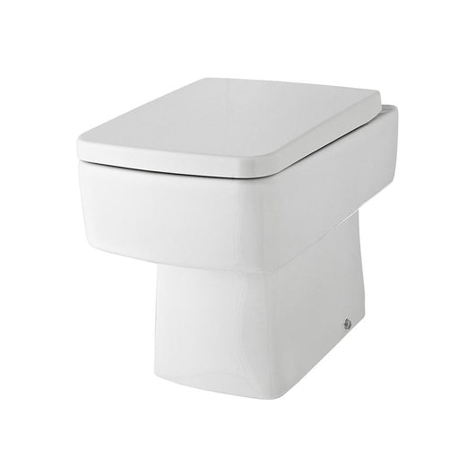 Mantello 1300mm Vanity & WC Set with Square Pan - White