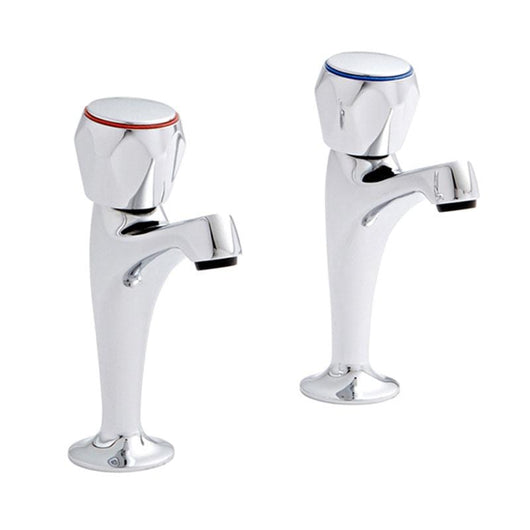 "Omega 1/2"" H.N. Kitchen Taps Pair - welovecouk"
