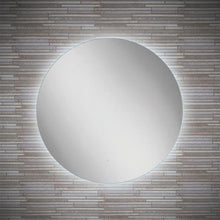 DesignCo Point 600mm Round Illuminated LED Mirror - welovecouk