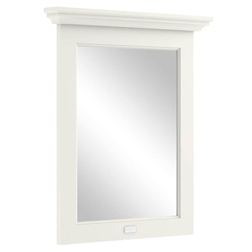 Bayswater 600mm Flat Mirror - Pointing White