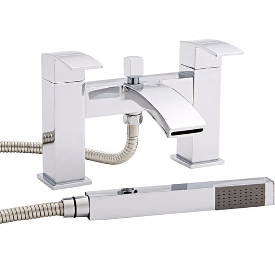 Finesse Dual Lever Bath Shower Mixer Tap - welovecouk
