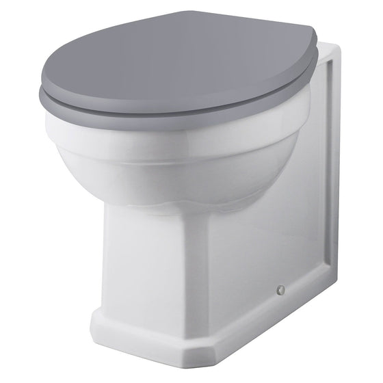 Bayswater Fitzroy Back to Wall Pan - White - welovecouk
