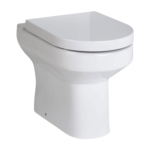 Melody Back to Wall Toilet & Soft Close Seat