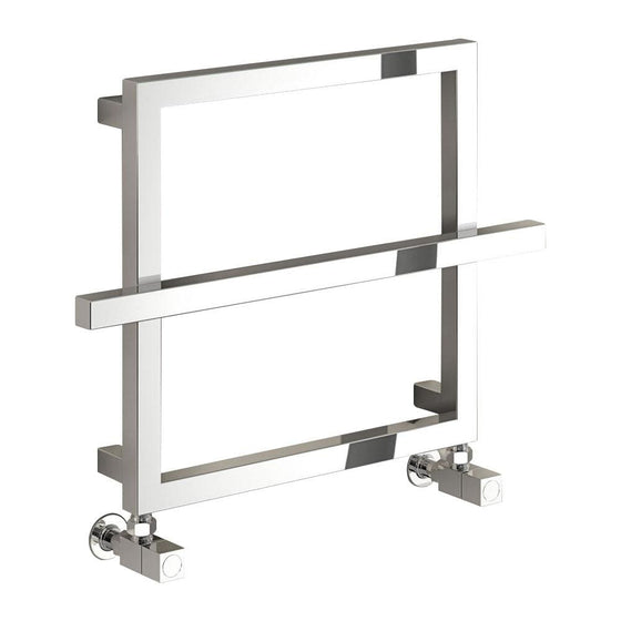 Reina Lago 1 450 x 600mm Designer Heated Towel Rail - welovecouk