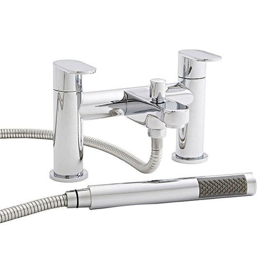 Theory Dual Lever Bath Shower Mixer Tap - welovecouk