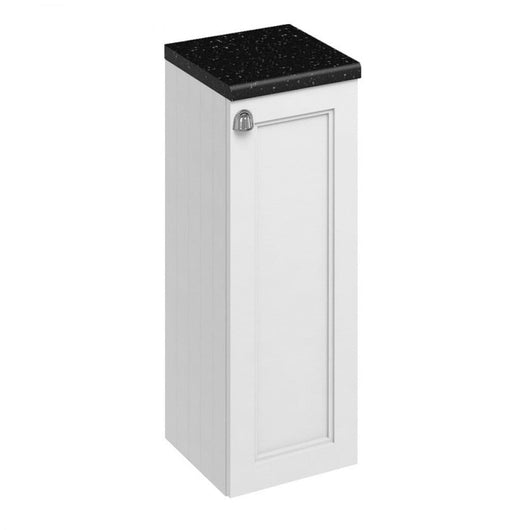 Burlington Floorstanding 300mm Single Door Storage Unit - Matt White