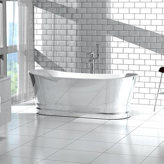 Vincent Alexander Vine 1700 Double Ended Freestanding Bath - welovecouk