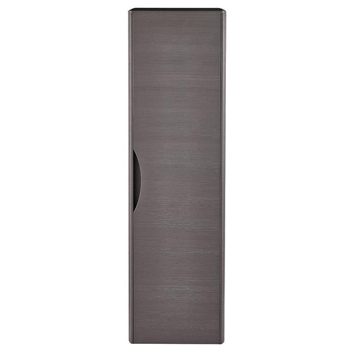 Solar 350mm Wall Hung Tall Boy Unit - Midnight Grey