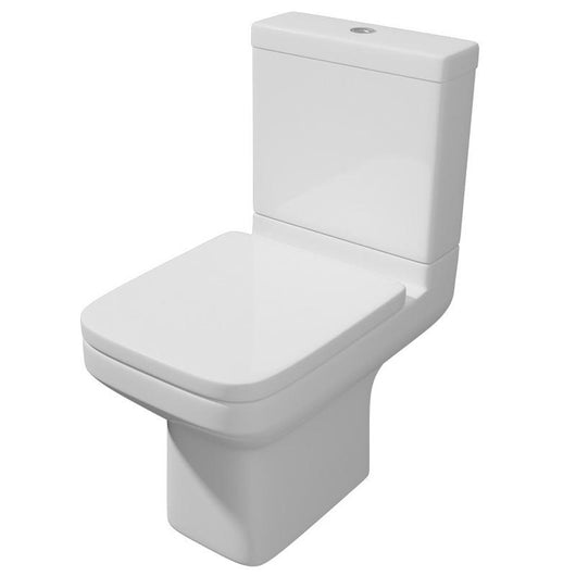 Edge Close Coupled Toilet & Soft Close Seat - welovecouk