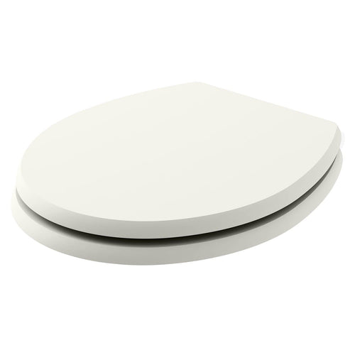 Bayswater Fitzroy Traditional Toilet Seat - Pointing White - welovecouk