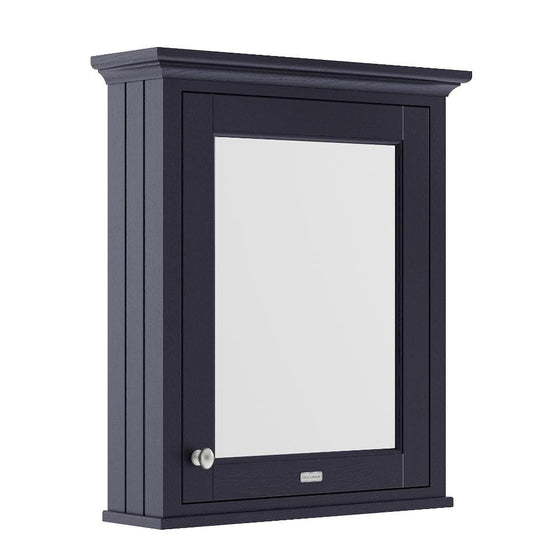 Old London 600mm Bathroom Mirror Cabinet - Twilight Blue - welovecouk