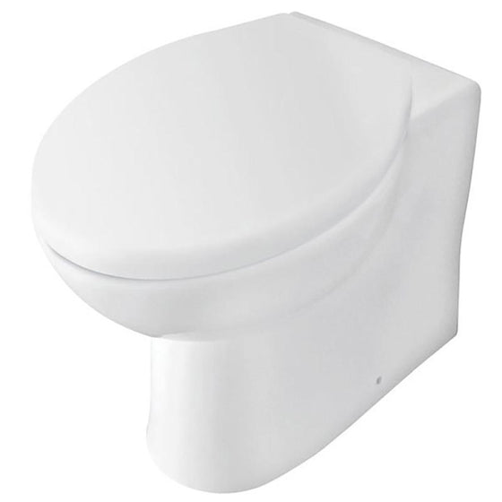 Orbit Back to Wall Toilet & Premium Soft Close Seat - welovecouk