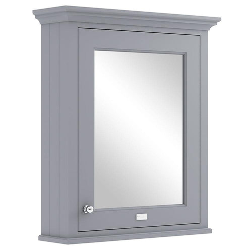 Bayswater 600mm Mirrror Wall Cabinet - Plummett Grey