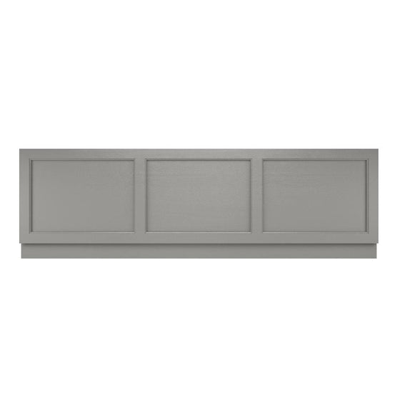 Old London 1795 Front Bath Panel - Storm Grey - welovecouk