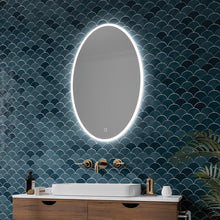 DesignCo Ovale 800mm Illuminated LED Mirror - welovecouk