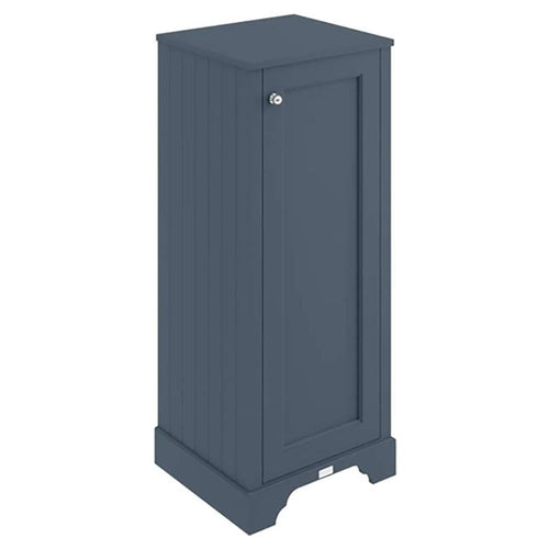 Bayswater 465mm Floor Standing Tall Boy Cabinet - Stiffkey Blue
