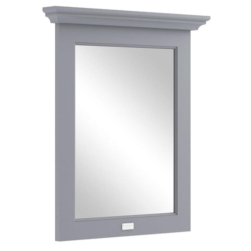 Bayswater 600mm Flat Mirror - Plummett Grey