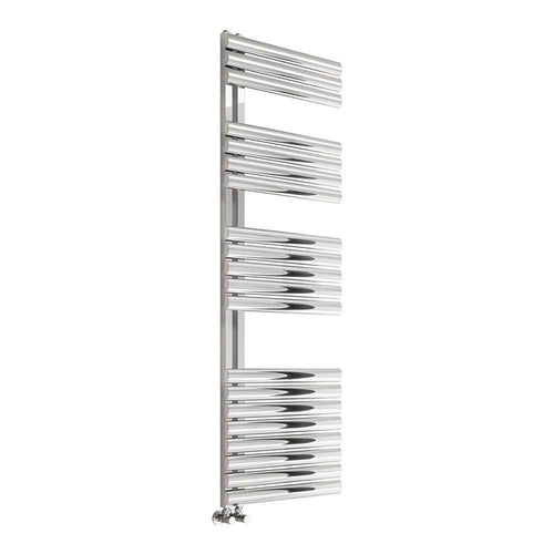 Reina Scalo 1120 x 500mm Stainless Steel Designer Heated Towel Rail