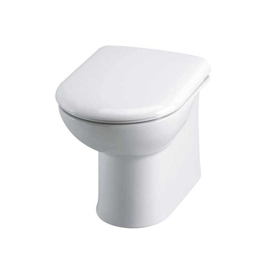 Pier Back to Wall Pan & D-Shaped Soft Close Seat - welovecouk