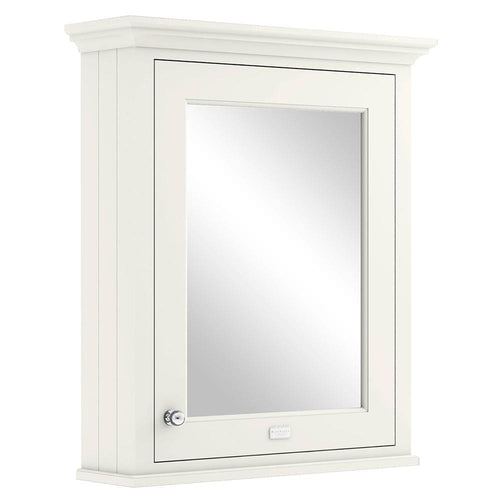 Bayswater 600mm Mirrror Wall Cabinet - Pointing White