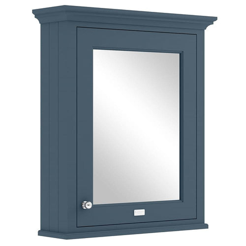 Bayswater 600mm Mirrror Wall Cabinet - Stiffkey Blue
