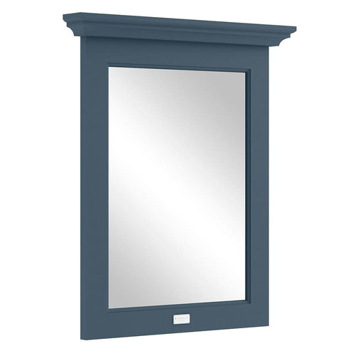 Bayswater 600mm Flat Mirror - Stiffkey Blue