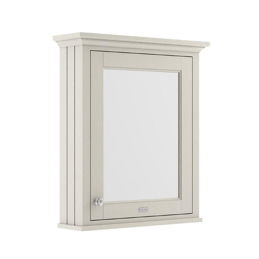 Old London 600mm Bathroom Mirror Cabinet - Timeless Sand - welovecouk