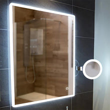 DesignCo Lyra 600mm Rectangular Illuminated LED Mirror - welovecouk