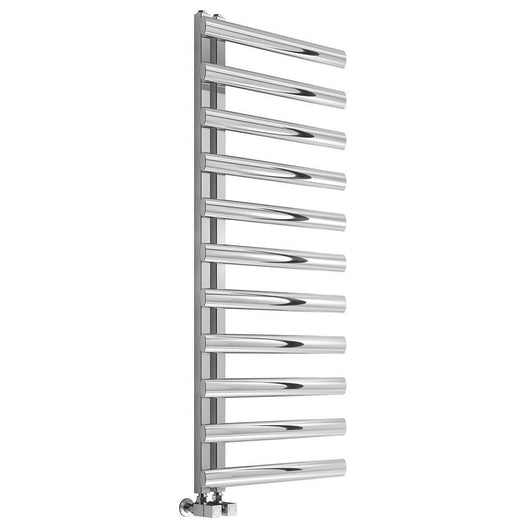 Reina Cavo 1230 x 500mm Stainless Steel Heated Towel Rail - welovecouk