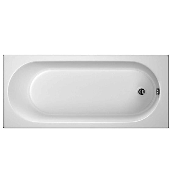 1700 x 700mm Single Round Ended Bath - welovecouk