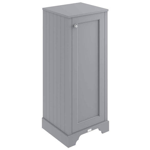 Bayswater 465mm Floor Standing Tall Boy Cabinet - Plummett Grey