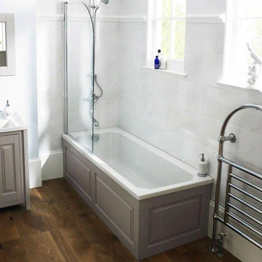 Nuie Ascott 1700 x 700 Single Ended Rectangular Bath