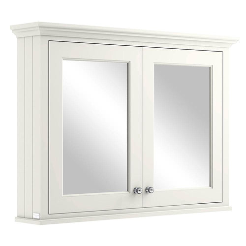 Bayswater 1050mm Mirrror Wall Cabinet - Pointing White