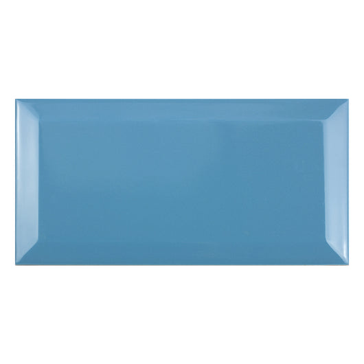 Metro Teal Gloss Rectangle Ceramic Tiles