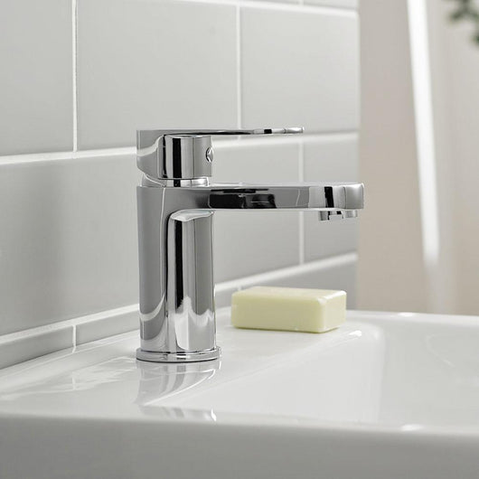 Theory Single Lever Mono Basin Mixer Tap - welovecouk