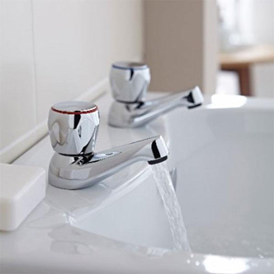 "Omega 3/4"" Bath Taps Pair - welovecouk"