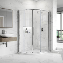 ShowerWorX Summit Offset Quadrant Shower Enclosures (Multiple Sizes Available) - welovecouk