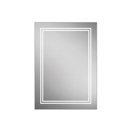 DesignCo Frame 600mm Illuminated LED Backlit Mirror - welovecouk