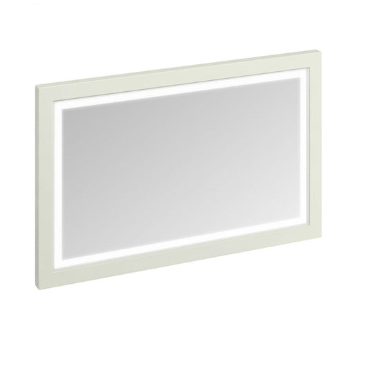 Burlington 1200mm Wooden Framed Mirror with LED Illumination - Sand