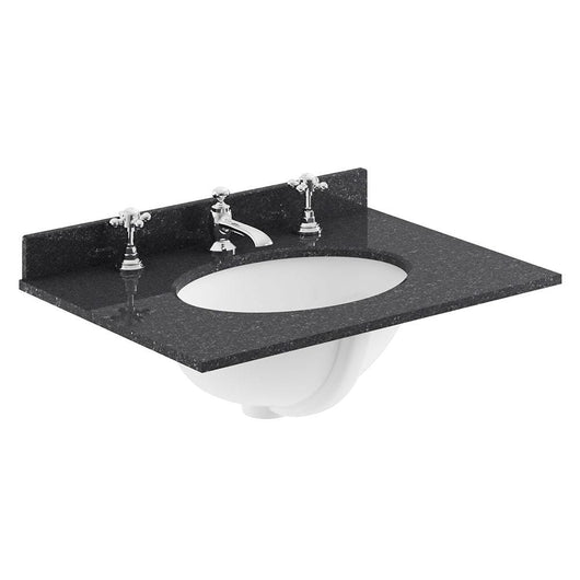 Bayswater 600mm 2-Door Basin Vanity Unit - Pointing White - welovecouk