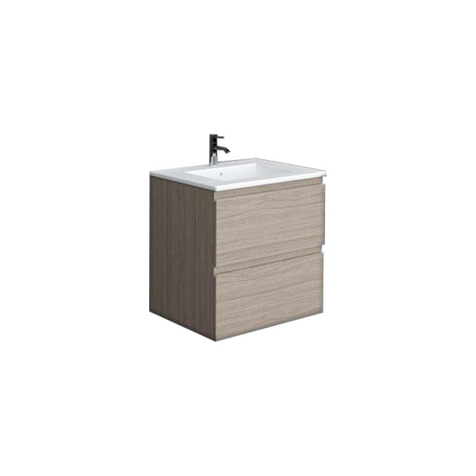 RAK Joy 600mm Wall Hung Vanity Unit with Basin - Elm Grey