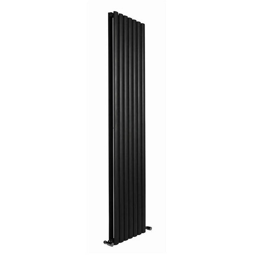Reina Neva Vertical Double Radiator 1800 x 531 - Anthracite - welovecouk