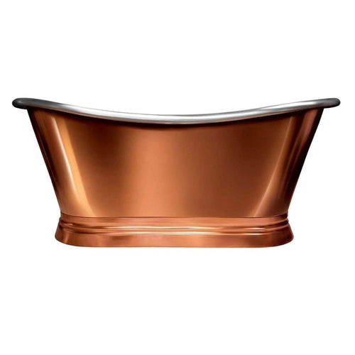 BC Designs Classic 1700 Roll Corner / Nickel Boat Bath