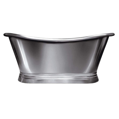 BC Designs Classic 1700 Roll Top Nickel Boat Bath