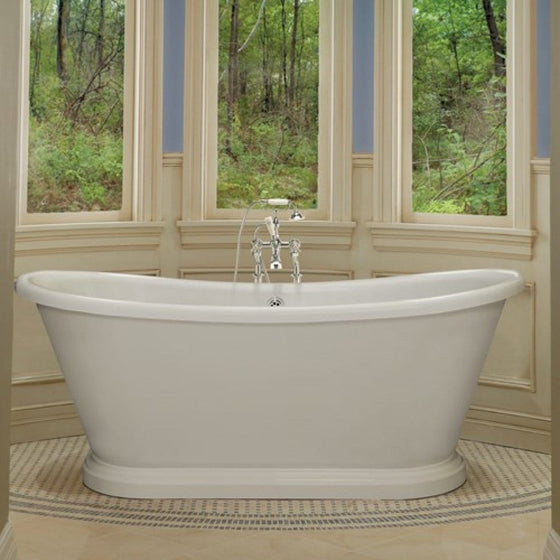 BC Designs Double-Skinned 1700 Acrylic Boat Bath - welovecouk