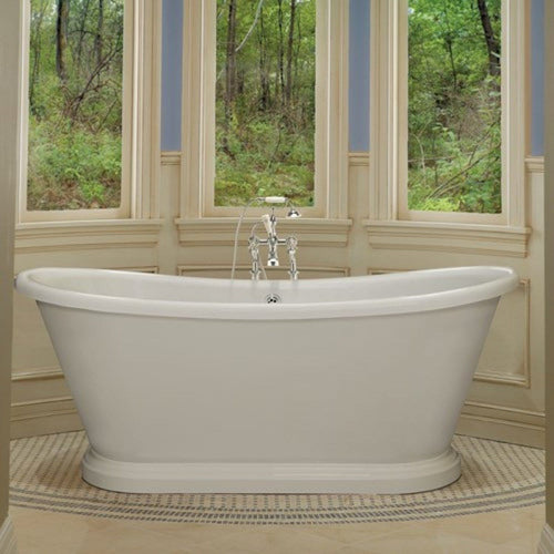 BC Designs Double-Skinned 1580 Acrylic Boat Bath