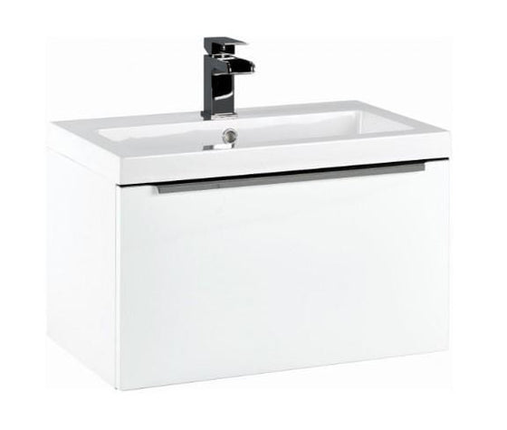 Eclipse 600 Wall Mounted Basin Cabinet - welovecouk