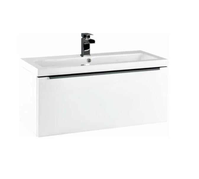 Eclipse 800 Wall Mounted Basin Cabinet - welovecouk
