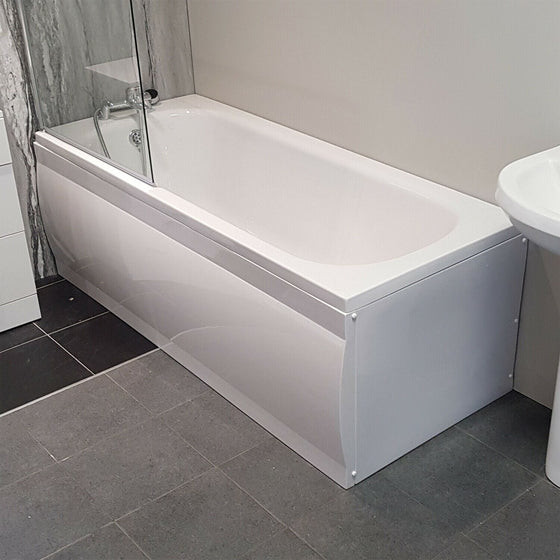 Mayford 1700 mm x 700mm Single Ended Acrylic Bath