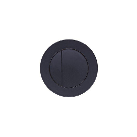 Mantello Black 1000mm Vanity & WC Set with Round Pan - Stone Grey